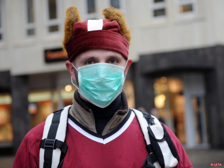 В городах Латвии введен карантин из-за гриппа