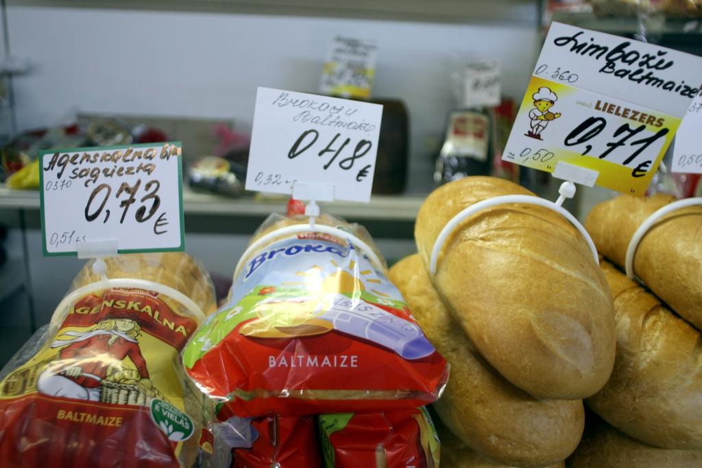 Цены в январе упали почти на процент