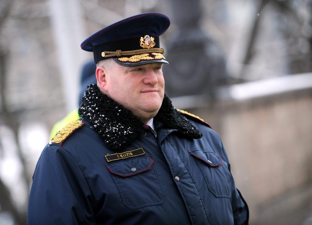 Начальник полиции Кюзис не планирует уходить с поста