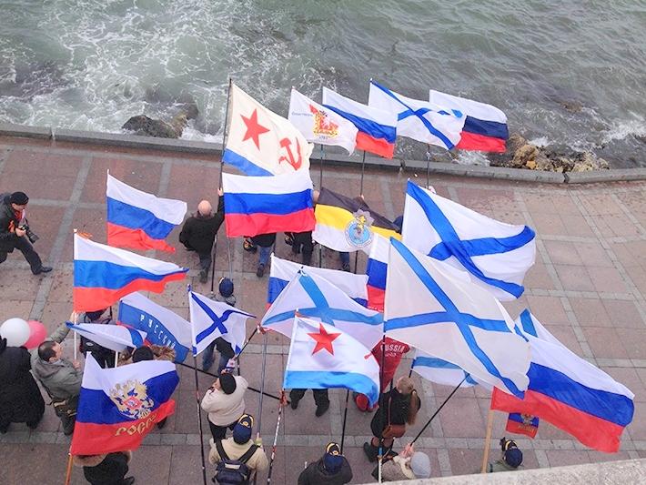 В Крыму воссоздана военно-морская база российского флота