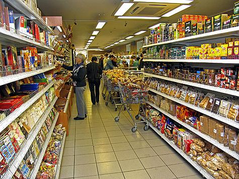 Зачем покупать продукты, когда их можно украсть?