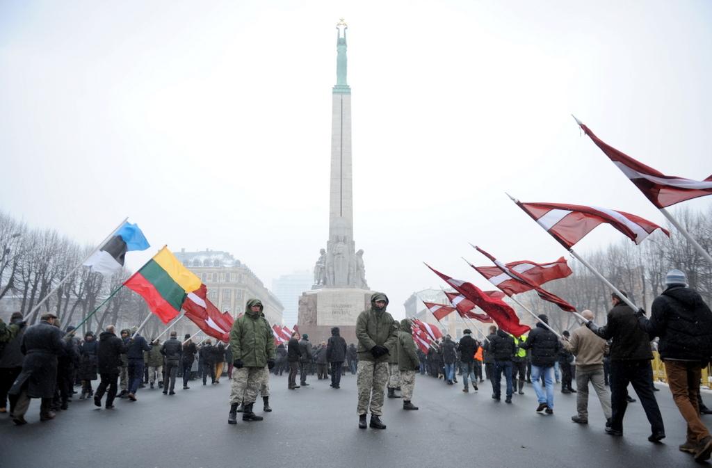 ВИДЕО. МИД России считает позором шествие легионеров SS в Риге