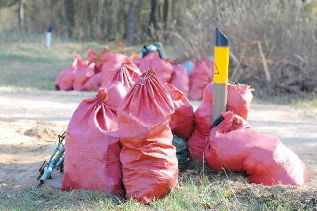 Во время Большого субботника собрано 1 768 тонн мусора
