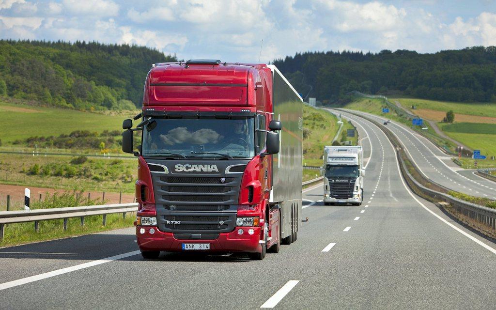 Увеличился спрос на услуги латвийских автоперевозчиков