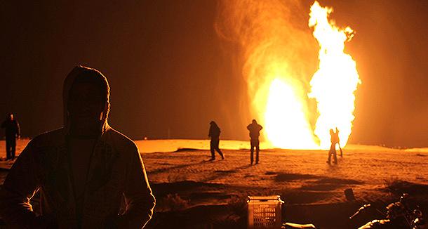 Взорван газопровод на Синайском полуострове