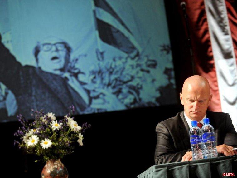 Министром юстиции снова может стать Гайдис Берзиньш