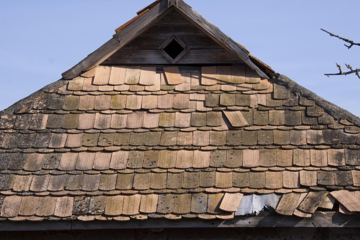 Как сделать старую крышу