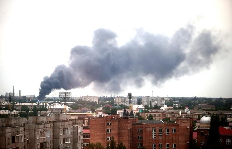 ОБСЕ зафиксировали обстрел Луганска кассетными боеприпасами