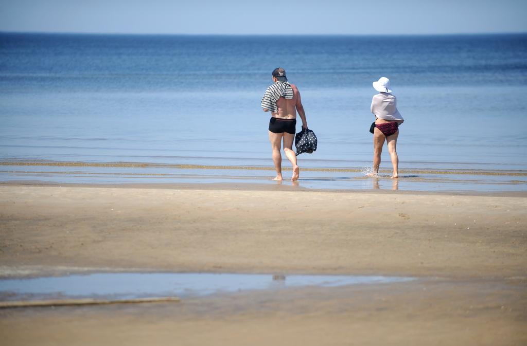 На улице – жарко, а в море – холодно?
