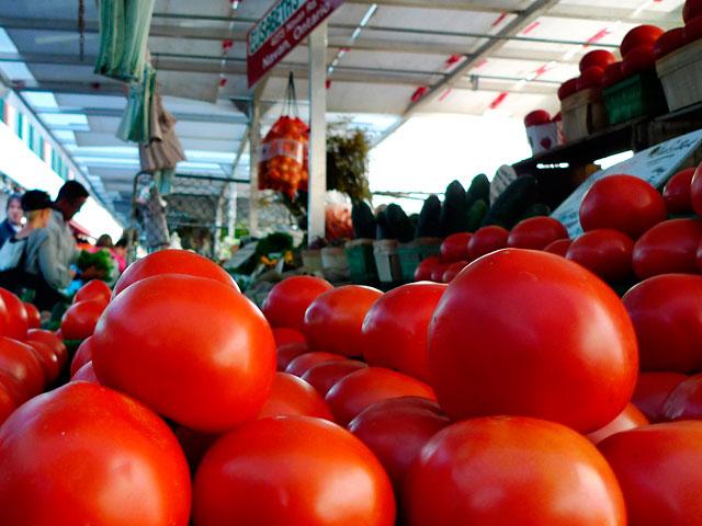 В сентябре подешевела морковь; подорожали лимоны и помидоры