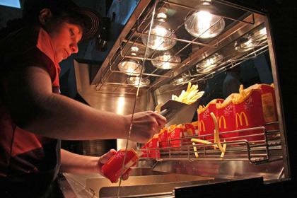 Роспотребнадзор начал проверки ресторанов «Макдоналдс» по всей стране