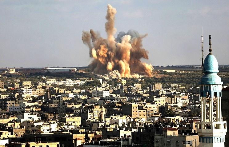 Израиль нанес авиаудары по военной инфраструктуре ХАМАС