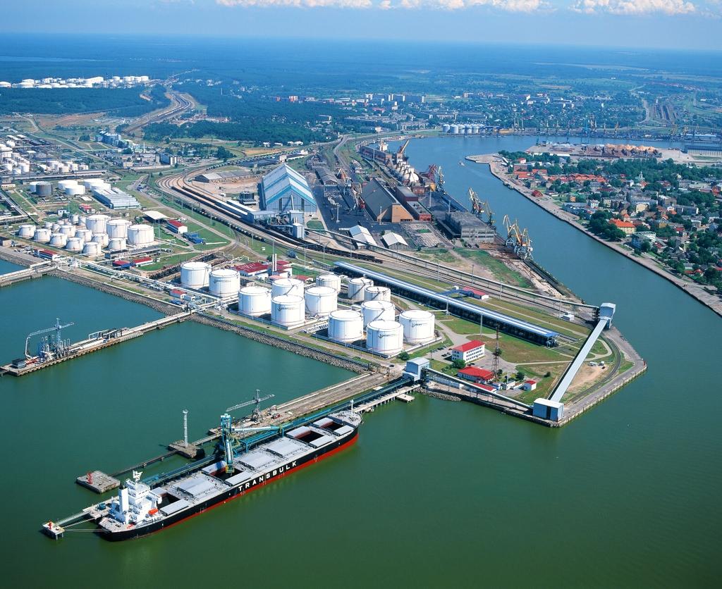 Грузооборот Вентспилсского порта в 2014 году — 26,2 млн тонн