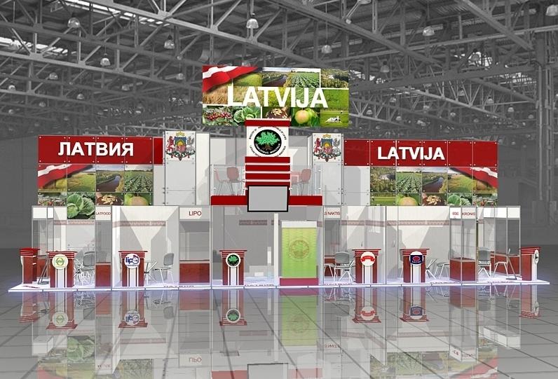 Латвийский павильон на выставке Expo Milano 2015 построят за 3 миллиона