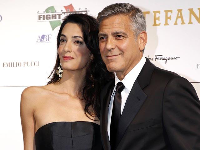 Джордж Клуни тайно женился
