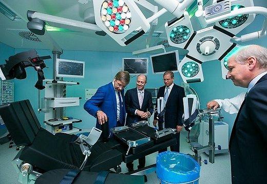 В 1-й Рижской больнице откроется самый современный операционный блок в Латвии