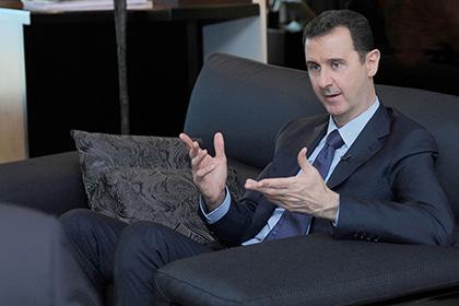 Асад усомнился в победе США над «Исламским государством»