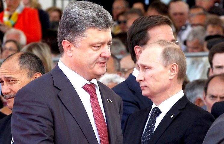 Порошенко угрожал Путину представить миру жетоны российских солдат