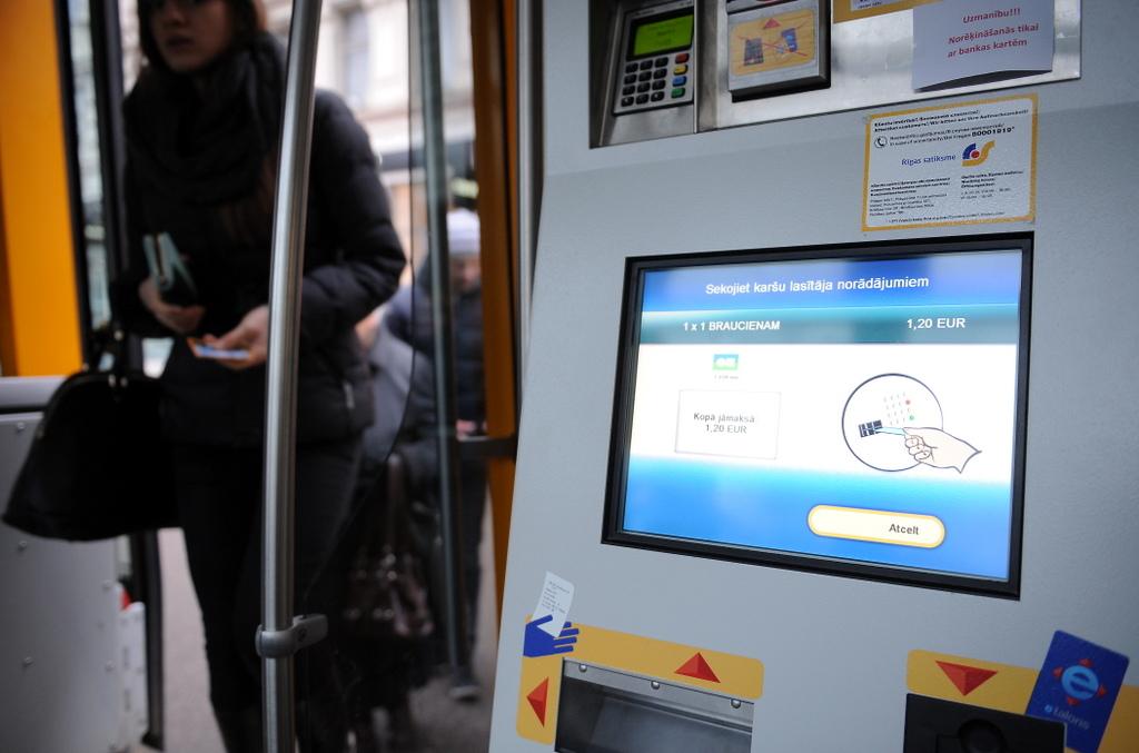 Вопрос о стоимости проезда в Риге рассматривает спецгруппа