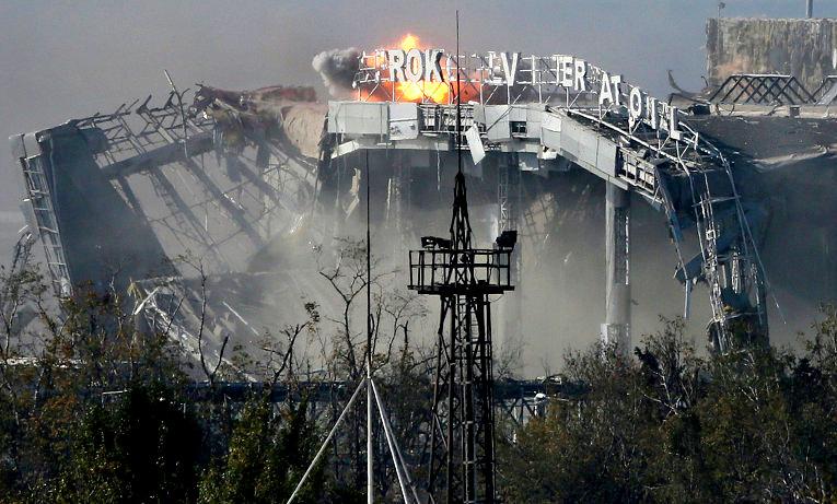 Ополчение ДНР: атаки на аэропорт отражены