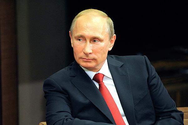 Жители России считают Путина Человеком года