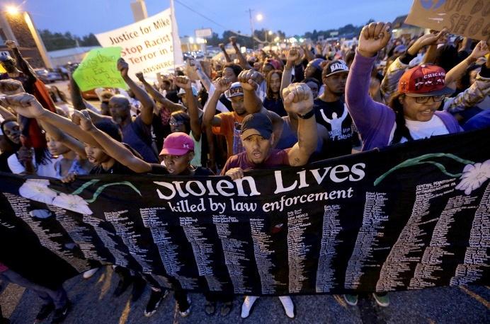 В Лондоне прошла акция протеста против гибели чернокожих в США