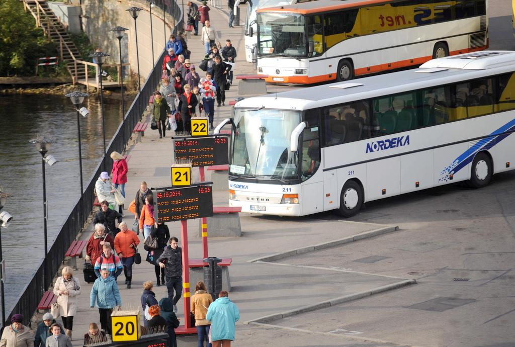 Ни один автобусный рейс Nordeka из-за забастовки не был отменен