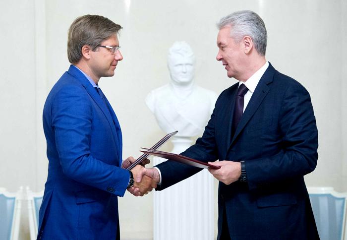 Подписана программа сотрудничества Риги и Москвы