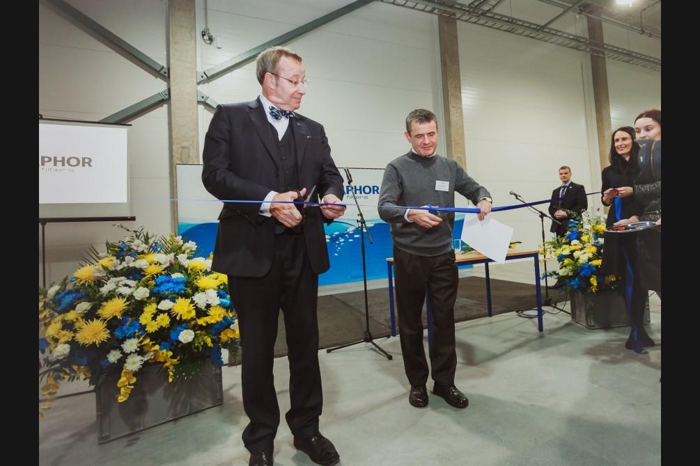 В Эстонии открылся самый современный в Европе завод водных фильтров