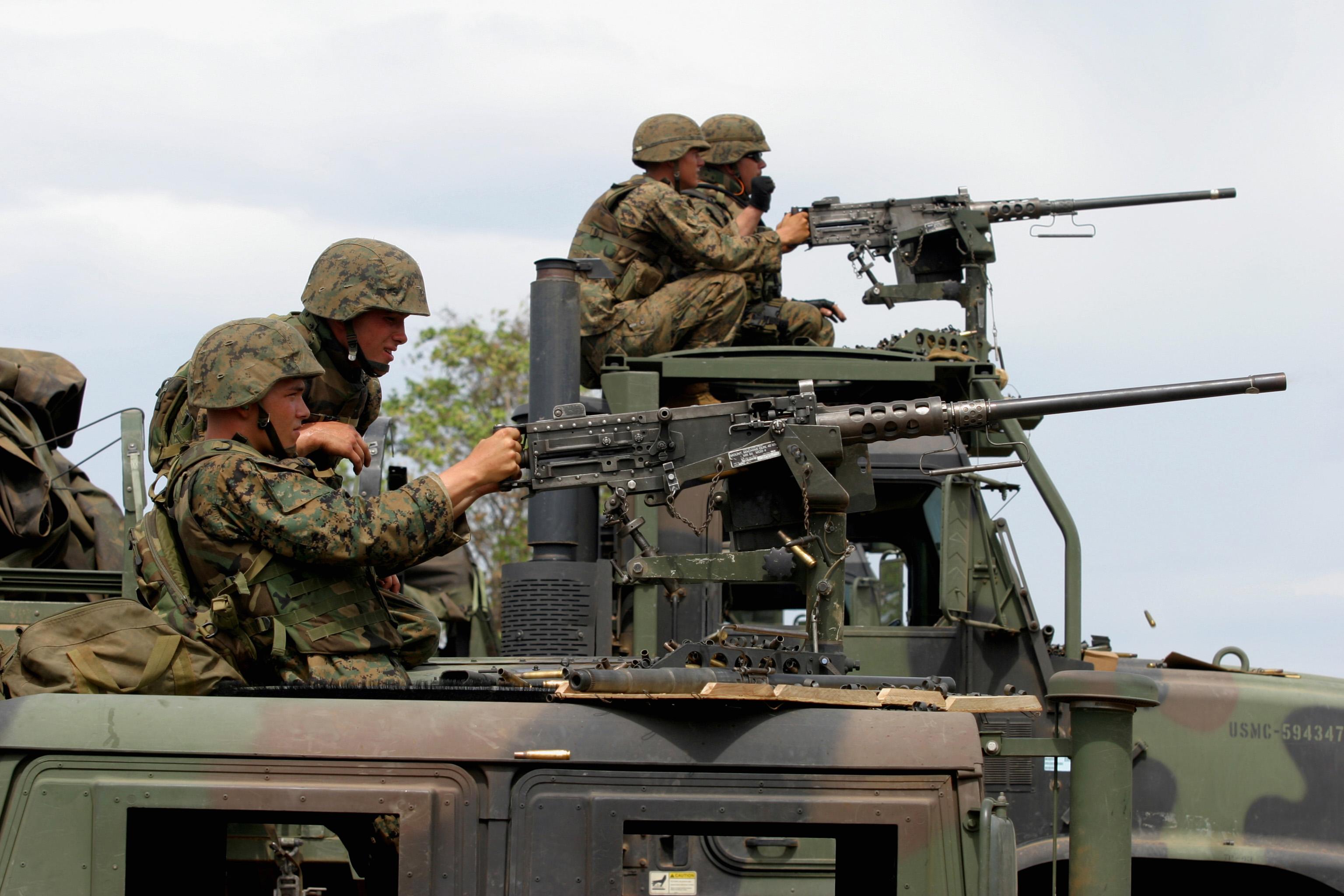 Латвийские военные купили пулеметы на 2 миллиона евро