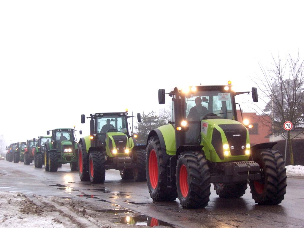 Фермеры начинают двухдневную акцию протеста в Брюсселе
