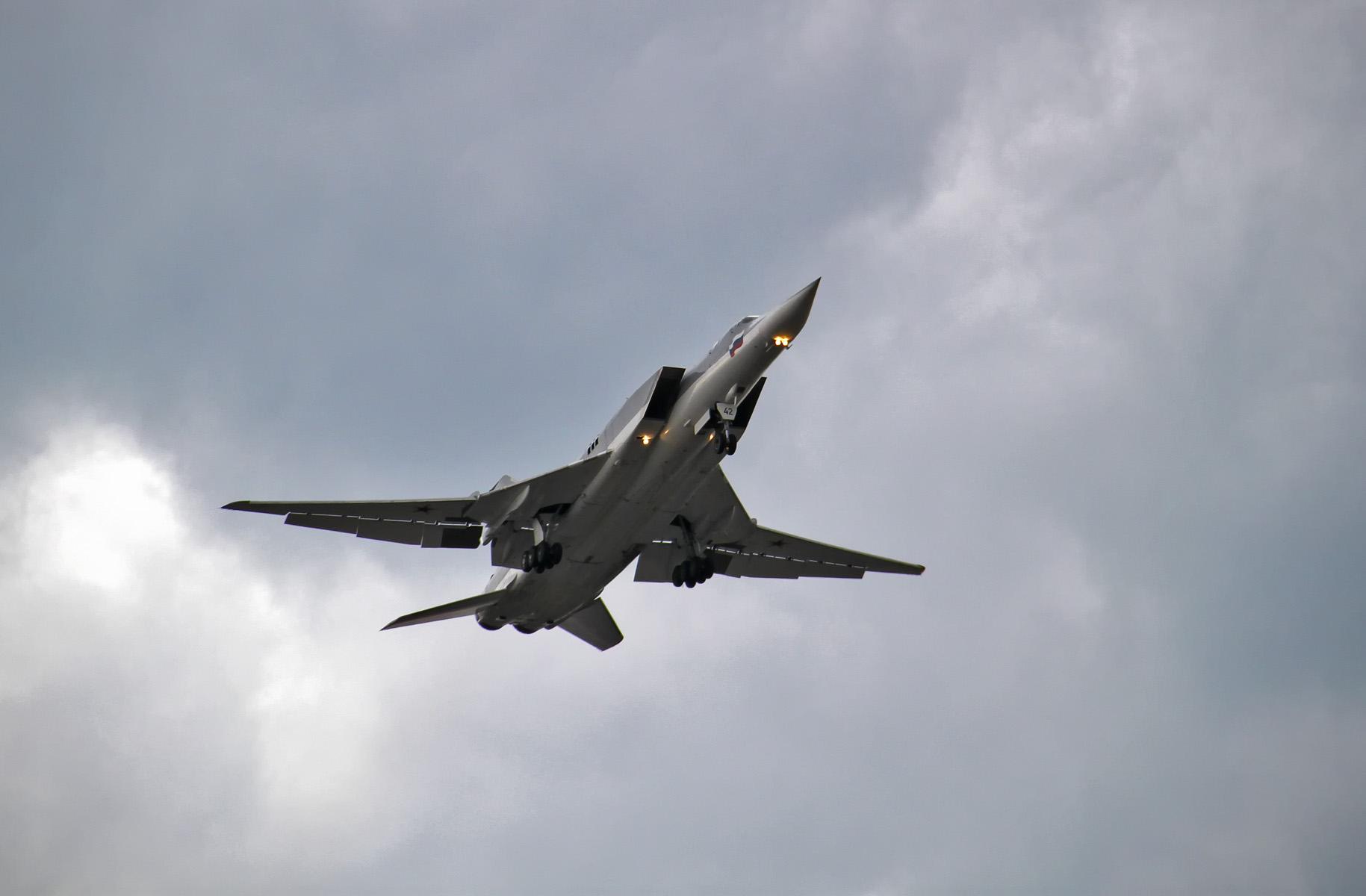 В небе над Балтикой перехвачены шесть российских бомбардировщиков