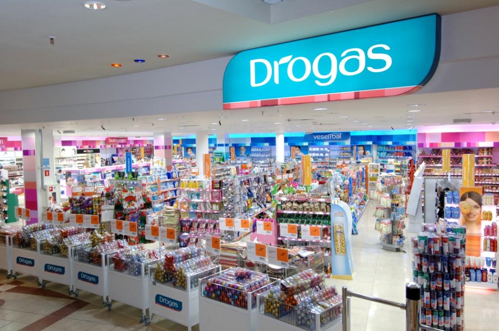 Drogas откроет новые магазины в Латвии