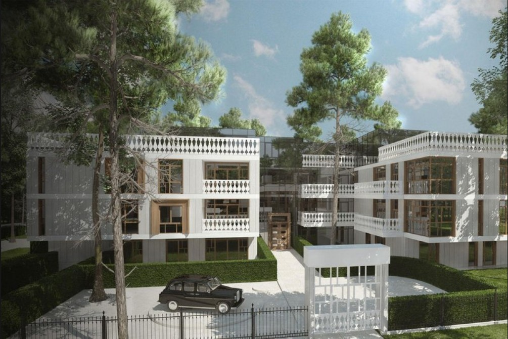 Латвийский проект недвижимости стал лучшим в мире