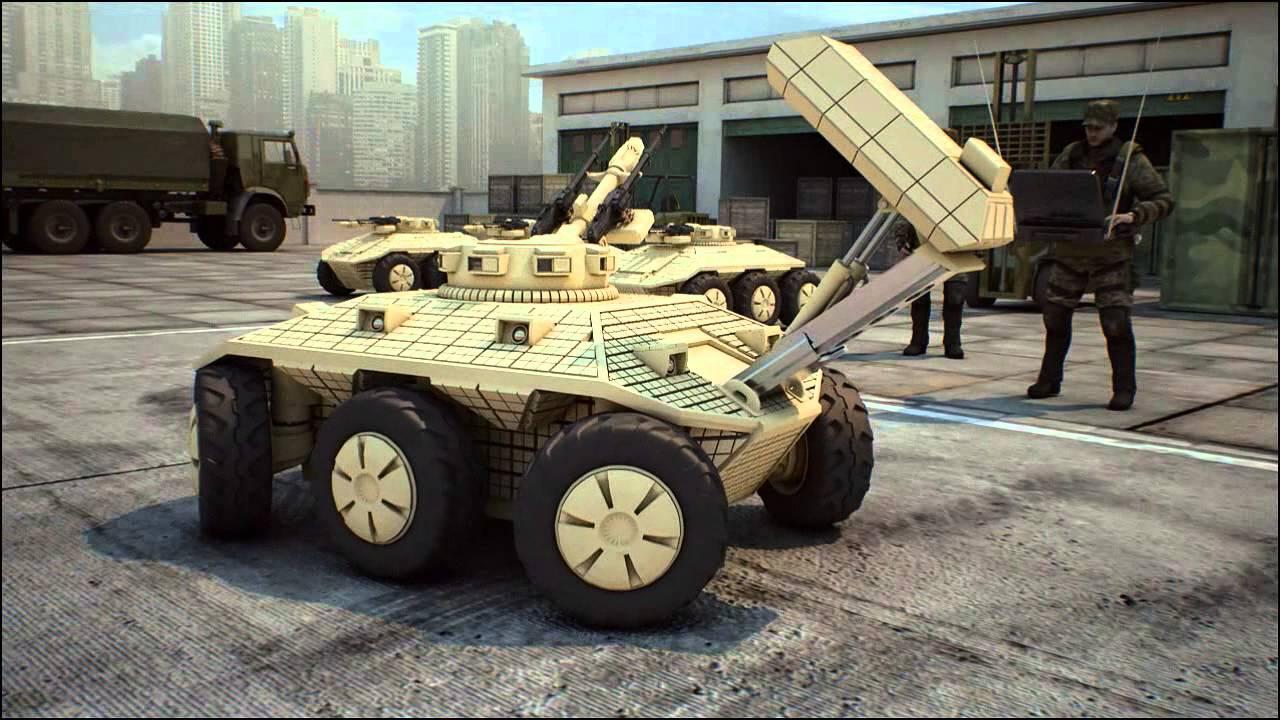 На вооружение армии России поступят боевые роботы