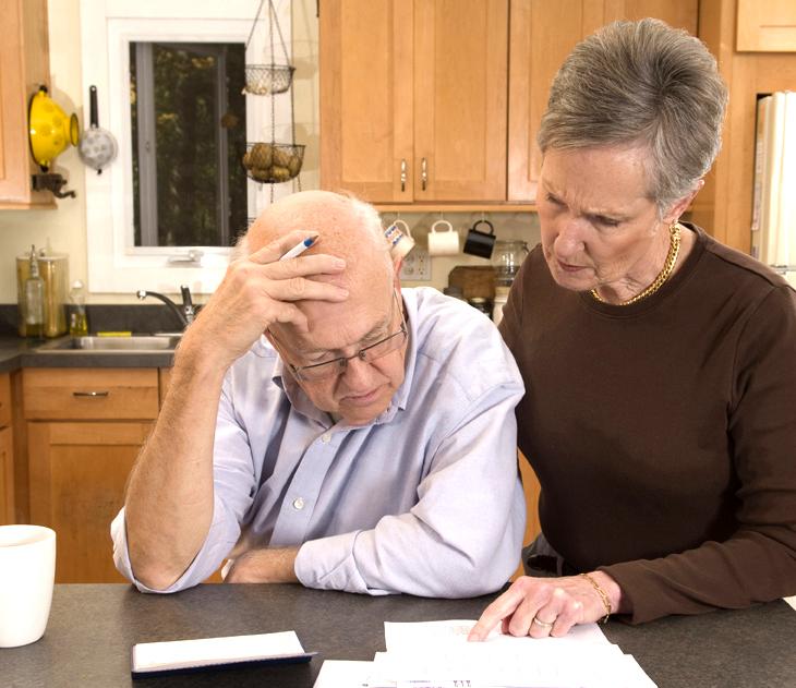 82% жителей расчитывают прожить на государственную пенсию