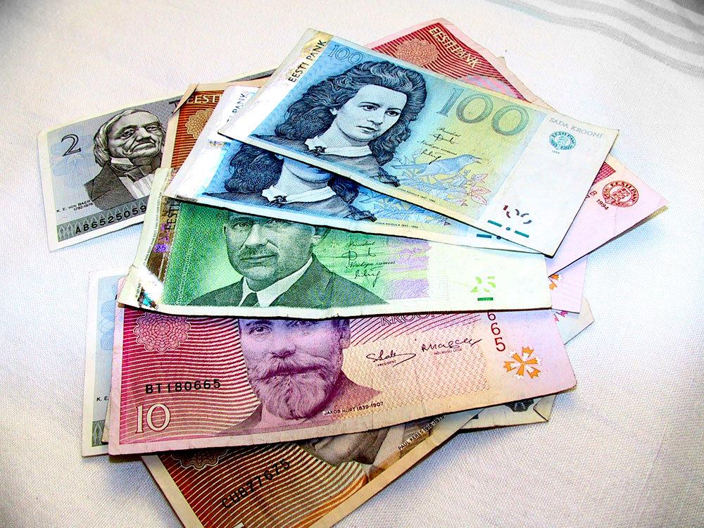 У жителей Эстонии остались эстонские кроны на 40 млн евро