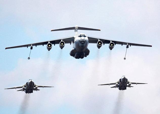 Военные ЛР: истребители НАТО вылетели на перехват Ил-78 ВВС РФ