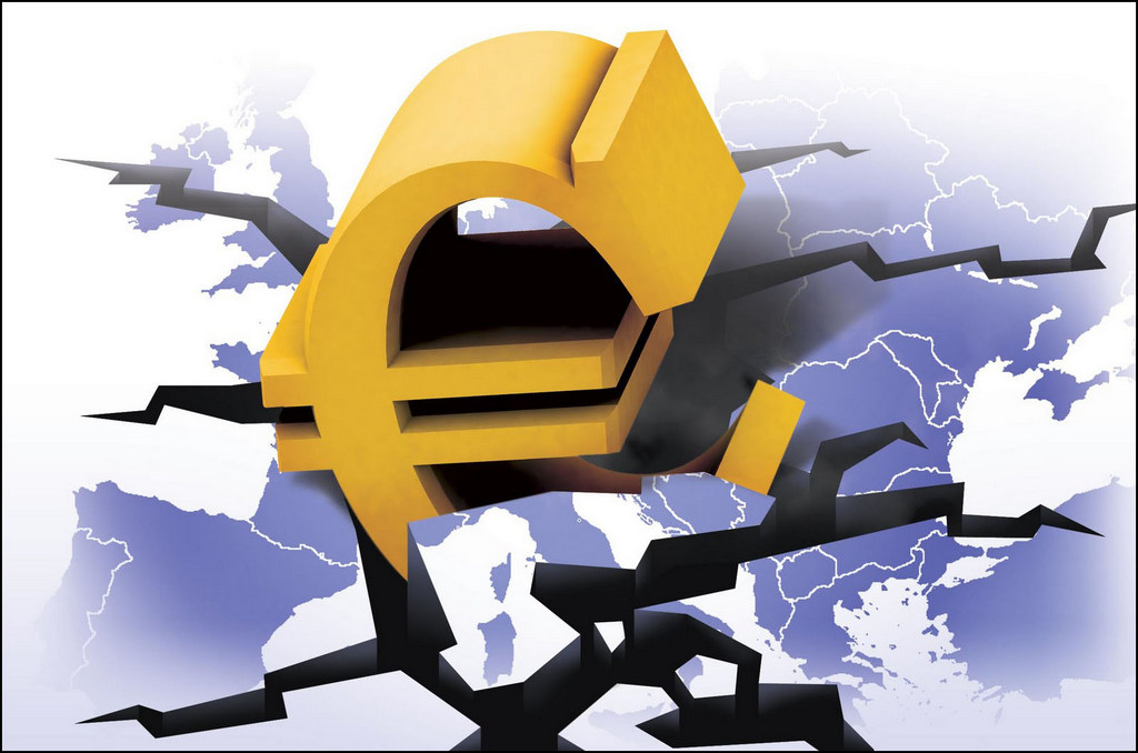 Курс евро упал ниже уровня запуска в 1999 году