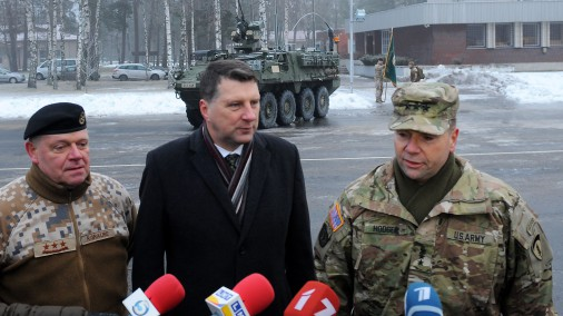 Латвия и США проведут несколько военных учений
