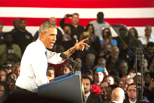 Обама заявил о намерении усиливать давление на Россию