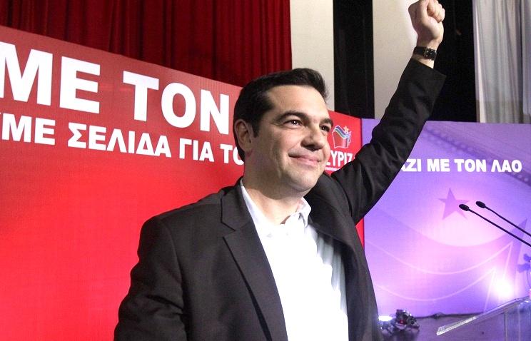 Выборы в Греции обрушили евро