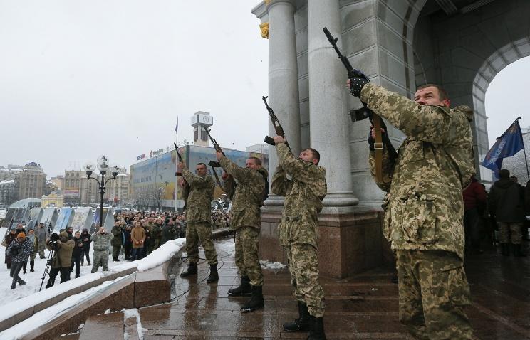 «Айдар» в Киеве пошел на штурм Минобороны Украины