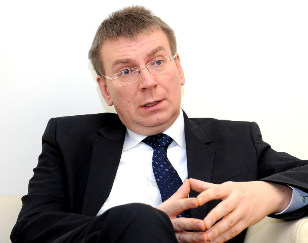 Латвия занимает активную позицию во внешней политике