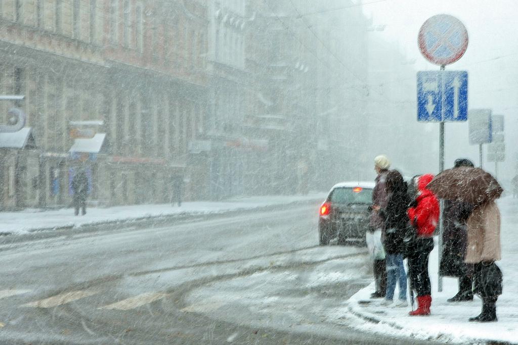 Завтра опять выпадет снег, возможна метель