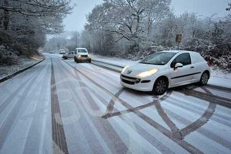 На дорогах Латвии — катастрофическая ситуация
