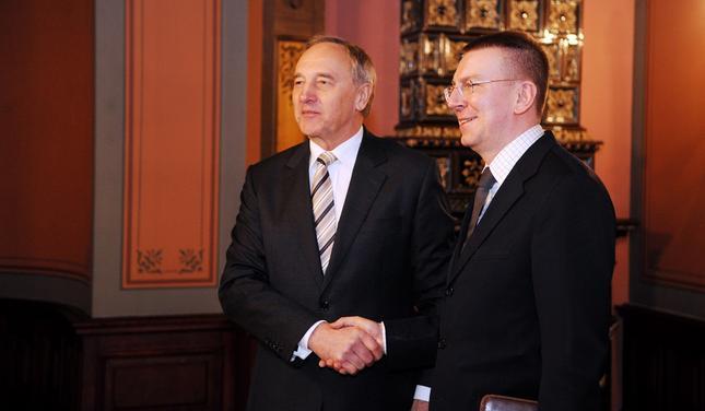 Ринкевич рассказал при каких обстоятельствах президент Латвии поедет в Москву 9 мая