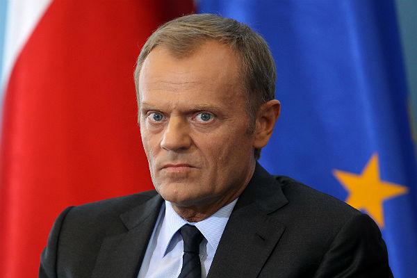 Ригу посещает президент Совета ЕС Дональд Туск
