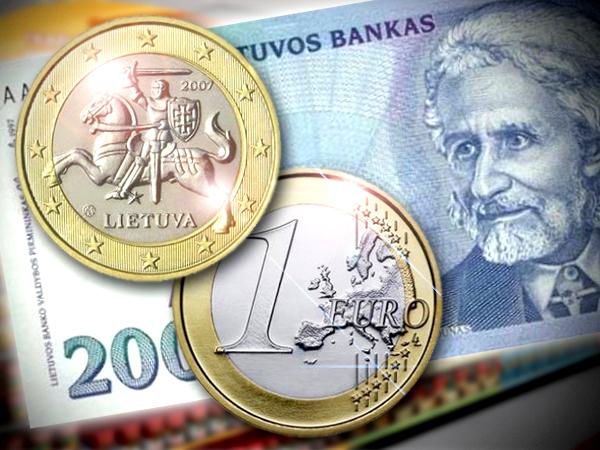 Как литовцам живется с евро? Фальшивки даже в банкомате!