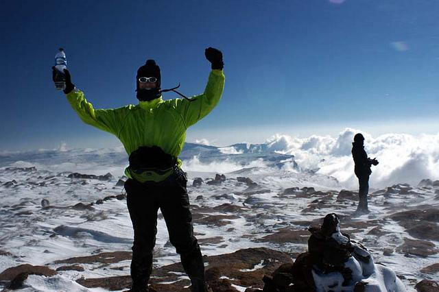 Латвийские альпинисты покорили высшую точку Южной Африки